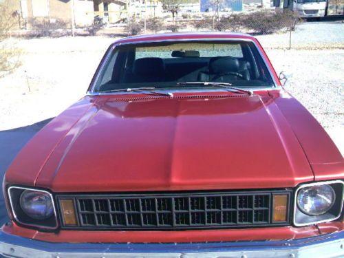 Parts Body Nova Chevy 1977