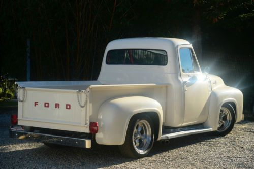Purchase Used 1955 Ford F100 Custom Street Truck W Ford