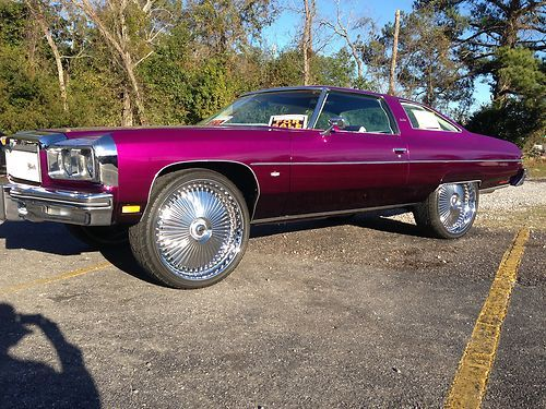 Sell used  1975 Chevrolet Caprice 2DR Donk Custom Show Car  in      1975 Chevrolet Caprice 2DR Donk Custom Show Car