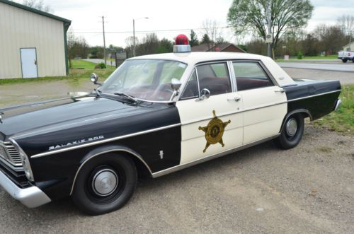 Sell used 1965 Ford Galaxie 500 Police Car   Mayberry Replica in     1965 Ford Galaxie 500 Police Car   Mayberry Replica  US  8 700 00