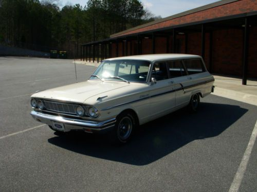 Ranch Ford Fairlane 500 Wagon