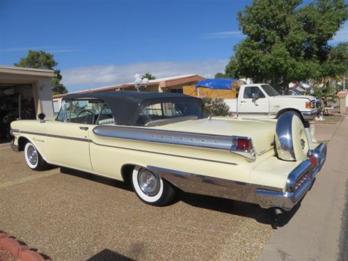 Find Used 1957 Mercury Turnpike Cruiser Convertible Fully