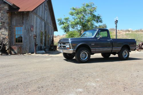 Sell Used 1972 Gmc Chevy K 10 4 X 4 Short Bed Truck Sierra
