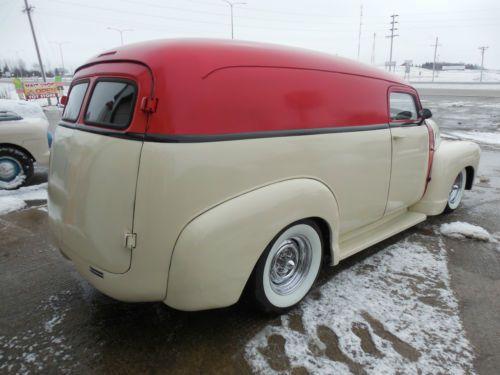 1953 Chevy Pickup Interior