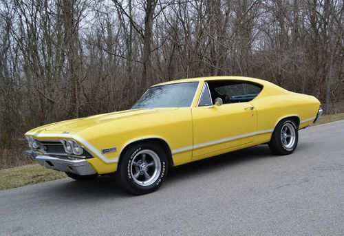 396 Chevelle Chevrolet 1968 Ss Hardtop Coupe
