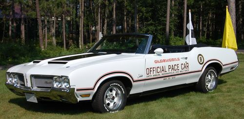 Buy Used 1970 Oldsmobile Y 74 Pace Car Convertible In