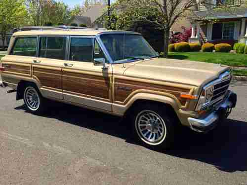 Cherokee Wagoneer Jeep Grand 1991