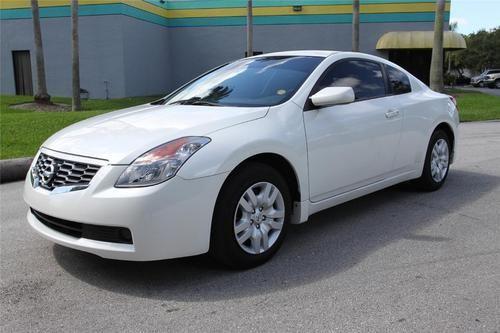 2009 Nissan Altima White