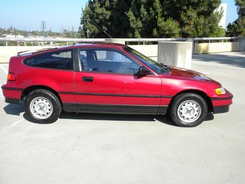 Sell Used 1990 Honda Crx 100 Original No Reserve 1 Owner