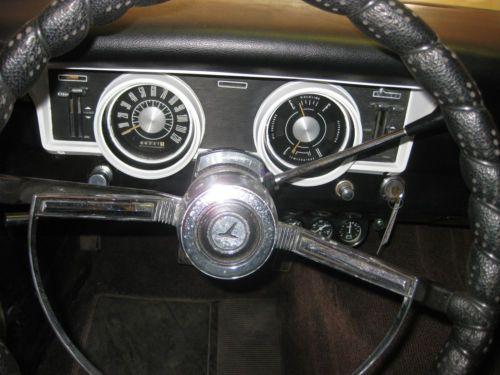 Sell Used 1966 Ford Falcon Ranchero Beige W Blk Interior