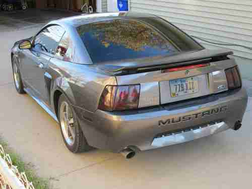 2003 Shadow Gray Mustang Mach 1