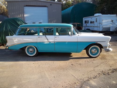Station Bel Air Wagon Chevy 1956