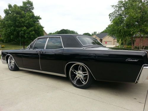 Purchase used 1966 Lincoln Continental - suicide doors ...