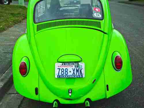 Find used 1965 Volkswagen Beetle  Lime Green  REBUILT ENGINE in Kent         1965 Volkswagen Beetle  Lime Green  REBUILT ENGINE