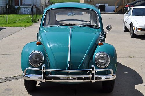 Buy used 1965 VW Bug original Java Green color in Middletown  Ohio     1965 VW Bug original Java Green color