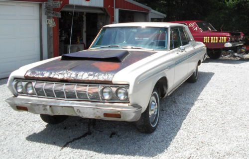 Buy used 1964 PLYMOUTH FURY PARTS CAR  NO TITLE  LOTS OF GREAT PARTS     1964 PLYMOUTH FURY PARTS CAR  NO TITLE  LOTS OF GREAT PARTS