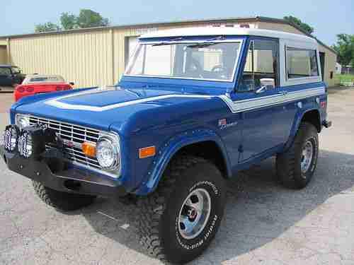 Convertible 1977 Bronco 4x4 Sale