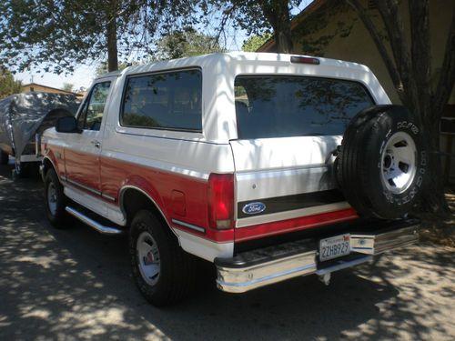Buy Used 1992 Ford Bronco Xlt Sport Utility 2 Door 5 0l In
