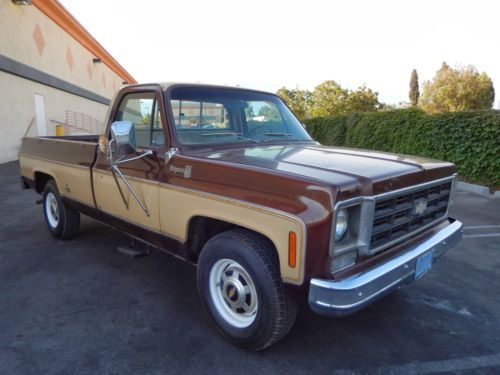 1990 Chevy Cheyenne Brown