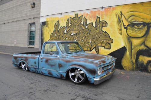 Custom Trucks Chevy Bagged