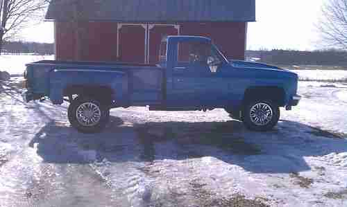 Box 4 Long Chevy 3 4 02 Door Ton