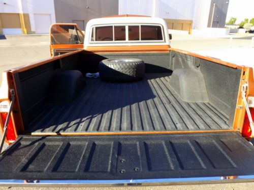 Sell Used 1971 Chevrolet C10 Long Bed Lwb 4x4 4wd Copper