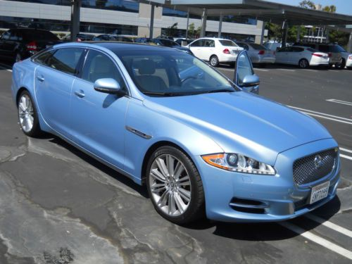 Sell Used Jaguar 2011 Xjl Supercharged Quot Frost Blue