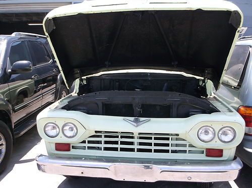Sell Used 1960 Ford F100 Panel Truck Green White
