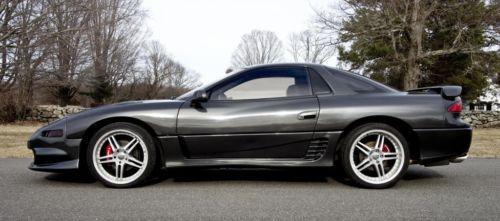 Purchase Used 1992 Mitsubishi 3000gt Vr 4 Twin Turbo Custom Very Rare Sandstone Grey Stealth In
