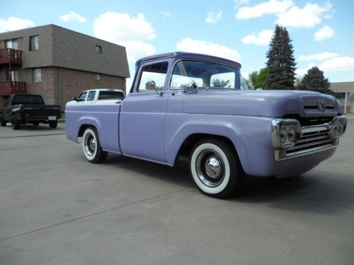 Purchase Used 1960 Ford F100 Pickup Custom Kustom