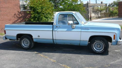 Buy Used 1973 Chevy C 10 Long Bed Truck Needs Restored