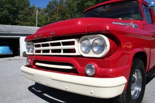 Buy Used 1958 Dodge D100 Pickup Power Giant In Jonesboro