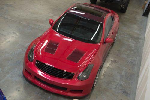 G35 Coupe Interior