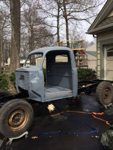 Buy Used 1950 Ford Coe F5 4x4 V8 Cabover Truck In Reno