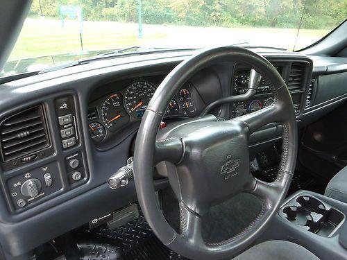 Four Door 2500hd 2002 Chevrolet Silverado 4x4