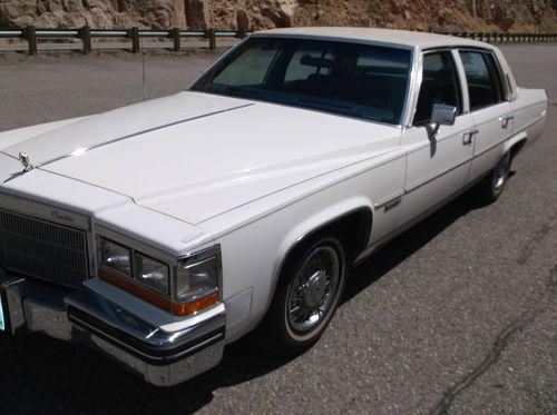 1982 Cadillac Sedan Deville Convertible