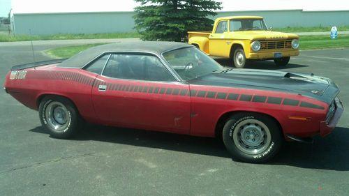 Buy Used 1970 Plymouth Aar Cuda Barracuda 70 Dodge