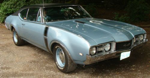 Purchase Used 1968 Oldsmobile 442 400 Quot G Quot Block Teal