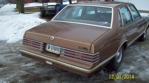 Find Used 1980 Pontiac Grand Lemans Base Sedan 4 Door 4 3l