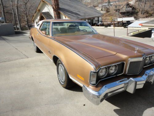 Find Used 1974 Mercury Cougar Gold Diamond Fire White
