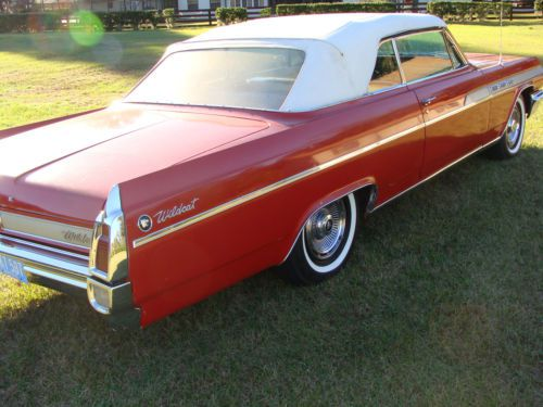 Purchase Used 1963 Buick Wildcat Convertible Classic Red W White Interior Amp Top 401 V8 Auto In