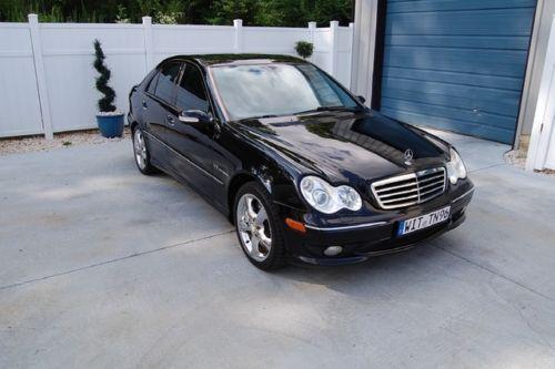 2003 C230 Kompressor Black Sport