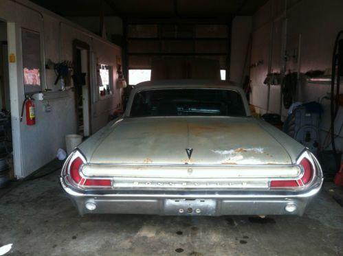 Buy Used 1962 Pontiac Bonneville 2 Door Hardtop Coupe