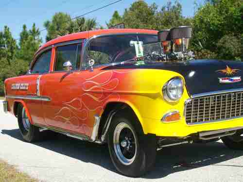 Rod Bel Air Street 57 Chevy