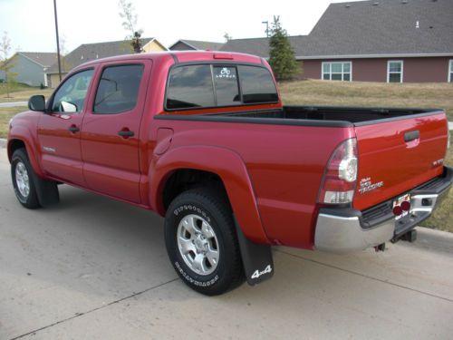 Buy Used 2009 Toyota Tacoma Crew Cab Pickup 4 Door 4 0l V6 4x4 Sr5 Truck In Waukee Iowa United
