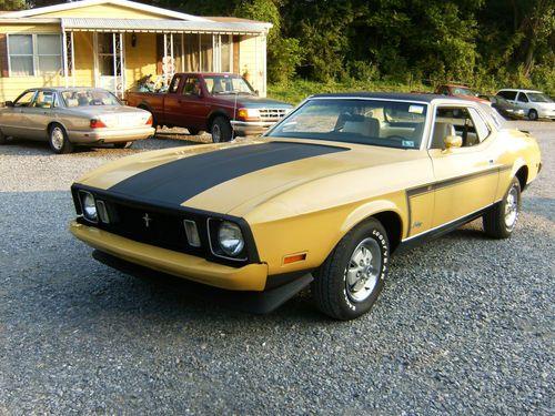 1973 Grande Mustang Black