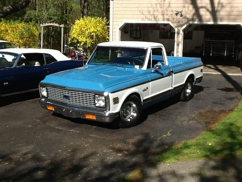 Buy used 1972 Chevrolet Cheyenne Super Pick up rotisserie restored     1972 Chevrolet Cheyenne Super Pick up rotisserie restored  US  29 500 00