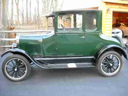 Buy Used Vintage 1926 Model T Ford 2 Door Coupe 2 Tone Paint Hot Rod Gasser Show Car In