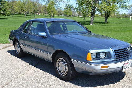 1985 Ford Thunderbird Anniversary Edition