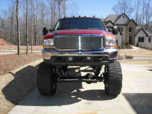 Purchase Used Lifted 7 3 2001 Ford F350 In Auburn Alabama